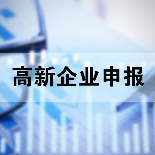 高新技术企业申报
